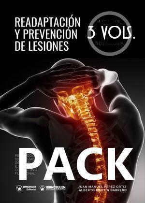 PACK READAPTACIÓN Y PREVENCIÓN DE LESIONES 3 VOLS.
