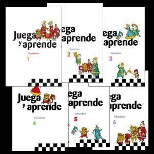 COLECCIÓN JUEGA Y APRENDE (6 VOLÚMENES)