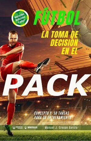 PACK TOMA DE DECISIÓN EN EL FÚTBOL (COLOR)