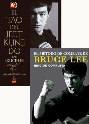 PACK BRUCE LEE: TAO DEL JEET KUNE DO  + MÉTODO DE COMBATE