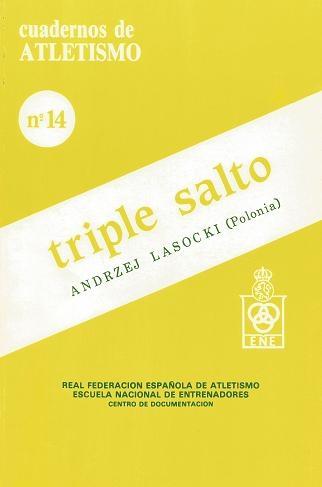 CUADERNO DE ATLETISMO Nº 14 TRIPLE SALTO