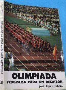 OLIMPIADA PROGRAMA PARA UN DECATLON