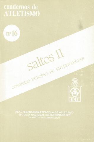 CUADERNO DE ATLETISMO Nº 16 SALTOS 11